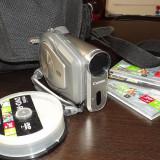 CAMERĂ VIDEO IMPECABILĂ Canon DC201 - Camera Video Canon, DVD, CCD, 30-40x, 2-3 inch