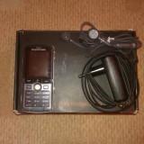 Mobil Sony Ericsson K750i - Telefon mobil Sony Ericsson, Negru, Orange, Dual core, 64 MB, Clasic