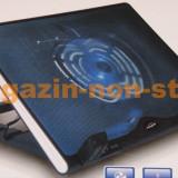 Cooler laptop - Stand Racire - Cooling Pad Ventilator 140mm - Masa Laptop