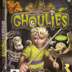 Jocuri Xbox Microsoft Game Studios, Actiune, 3+, Single player - JOC XBOX clasic GRABBED BY THE GHOULIES ORIGINAL PAL / STOC REAL / by DARK WADDER