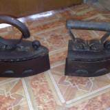Fier de calcat cu jar sau carbune - Metal/Fonta, Ornamentale