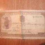 BANCNOTA DE 500 LEI ANUL 1941