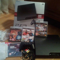 PlayStation 3 Sony - Ps3 320GB +move+11jocuri