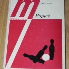 LADISLAU SZOCS - POPICE. METODICA INVATARII SI PERFECTIONARII JOCULUI. editia a 2-a revizuita - Carte Hobby Sport
