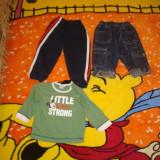 Haine copii 18-24 luni, O pereche de blugi, pantaloni trening,bluza Disney