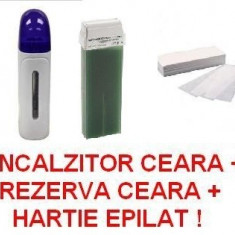 Produse epilare - APARAT EPILAT / INCALZITOR CEARA / KIT EPILAT / SET EPILARE / APARAT INCALZIT