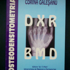 Corina Galesanu - OSTEODENSITOMETRIA DXR BMD - Carte ORL