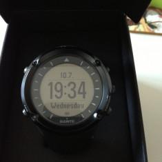 Ceas barbatesc, Sport, Cauciuc, GPS, LED, 2000 - prezent - Suunto Ambit Black