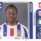 Cartonas de colectie - Abtibild Panini Ibeh Otelul Galati UEFA Champions League 2011-2012