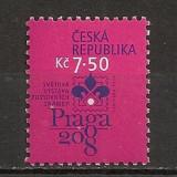 Timbre straine - Cehia.2006 Expozitia filatelica PRAGA 2008 SC.243