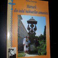 Marturii din iadul inchisorilor comuniste, Mihail Puscasu - Istorie