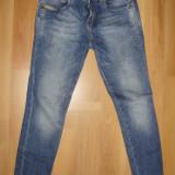Blugi dama, Skinny, Lungi, Lasat, Normala, Prespalat - SUPER OFERTA !!! Blugi / Jeans dama PULL & BEAR, elastici, cu tur lasat, super frumosi, mar. 30, NOI !!!