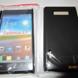 Husa plastic Hard case Grid mesh LG Optimus L7 P700