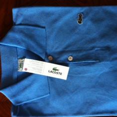 Tricou Lacoste/Burberry - Tricou barbati Lacoste, Marime: S, M, L, Culoare: Albastru, Bleu, Rosu, XL, Maneca scurta, Bleumarin