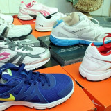 Adidasi originali - Adidasi barbati, Marime: Alta, Culoare: Alb