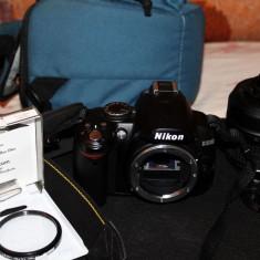 DSLR NIKON D3000 + OBIECTIV 18-55mm VR DE VANZARE