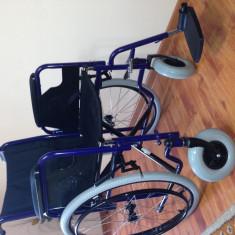Scaun cu rotile - Fotoliu rulant pliabil cu actionare manuala