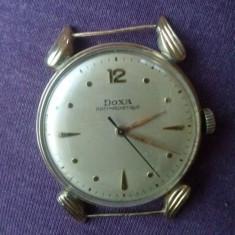 Ceas Barbatesc Doxa, Lux - elegant, Mecanic-Automatic, Aur, Inainte de 1940 - Ceas DOXA ( Aur 14k )
