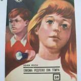 ENIGMA PESTERII DIN TIMPA VOL I DE IOAN MICU, COLECTIA CLUBUL TEMERARILOR 1969, STARE FOARTE BUNA - Carte educativa