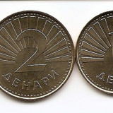 Macedonia Set - 0, 5, 1, 2, 5 Denari (1993/08) UNC !!!, Europa