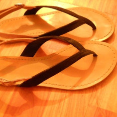 Sandale dama Zara, Marime: 37, Negru - Sandale ZARA trf
