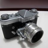 Aparat foto cu film Start cu obiectiv Helios 2/58mm