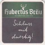 Suport de pahar / Biscuite HUBERTUS BRAU - Cartonas de colectie