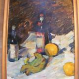 Reducere Tablou semnat E Stoenescu 80x60 cm - Pictor roman, Natura statica, Ulei, Impresionism