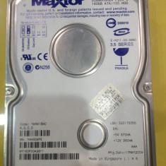 Hard Disk Maxtor, 100-199 GB, Rotatii: 7200, IDE, 8 MB - VAND HDD MAXTOR 160GB 7200 RPM stare foarte buna + radiator!!!!