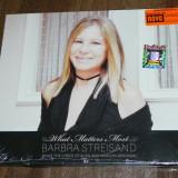 CD ORIGINAL SIGILAT sony music - 2011 - BARBRA STREISAND WHAT MATTERS MOST . SINGS THE LYRICS ALAN AND MARILYN BERGMAN - 1CD