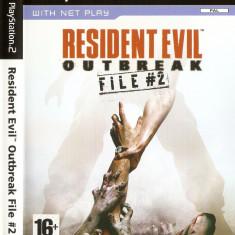 JOC PS2 RESIDENT EVIL OUTBREAK FILE #2 ORIGINAL PAL / STOC REAL / by DARK WADDER - Jocuri PS2 Capcom, Actiune, 16+, Single player