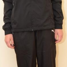 Trening dama Puma V5.08 Woven Suit 65118203, ORIGINAL, poliester, negru/alb
