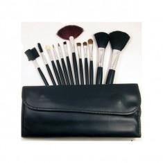 Pensula make-up - Set 12 Pensule Machiaj farduri Profesionale