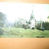 Carte postala Sinaia Castelul Peles1911, Circulata, Printata