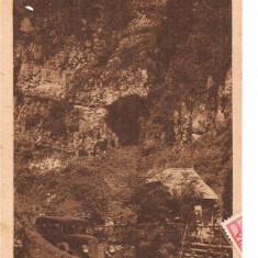 CPI (B2187) PESTERA DAMBOVICIOARA, EDIT. C. FLORESCU, CRAIOVA, CIRCULATA 14.4.1948, STAMPILE, TIMBRE
