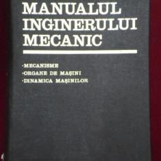 GH BUZDUGAN - MANUALUL INGINERULUI MECANIC ( VOL 3) - MECANISME, ORGANE DE MASINI, DINAMICA MASINILOR - Carti Mecanica