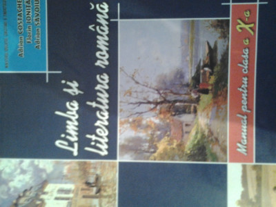 Limba si literatura romana , manual pt clasa a- x-a, editura Art foto