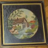 Tapiterie Goblen - Goblen vechi peisaj