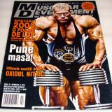 MUSCULAR DEVELOPMENT / martie 2008 - Revista barbati