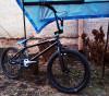 Bicicleta BMX Nespecificat, 20 inch, 20 inch, Numar viteze: 1, Otel, Negru-Alb-Albastru - Vand/schimb Bmx Custom