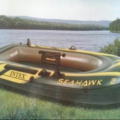 Barca Pescuit - BARCA GONFLABILA SEAHAWK II / 2 persoane INTEX