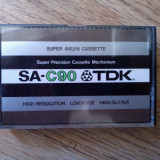 Caseta audio TDK SA-C90 - Deck audio