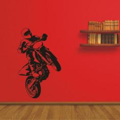 Tatuaj de perete Sticker Decorativ - Motocross - Tapet