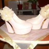 Pantofi dama, Marime: 39, Roz - PANTOFI