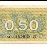 Bancnota Straine - LL bancnota Lithuania 0.50 talonas 1991