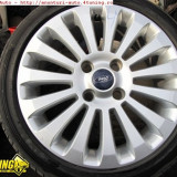 Janta aliaj - Vand jenti aliaj ford 4x108x16, model 2009 stare foarte buna, cu cauciucuri iarna bune