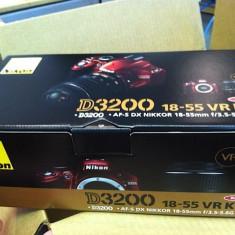Nikon D3200 Kit AF-s DX 18-55mm f/3.5-5.6G VR VBA330K001 - Aparat Foto Nikon D3200, Kit (cu obiectiv)