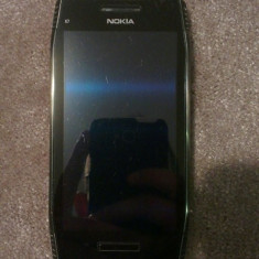 Telefon Nokia, Argintiu, 8GB, Neblocat, Dual core, 256 MB - Vand NOKIA X7! Original