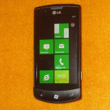 Telefon LG, Negru, 16GB, Neblocat, Single core, 512 MB - Smartphone LG Optimus 7 E900 cu garantie