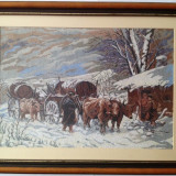 Iarna (Carul cu Boi) (Winter) - Tapiterie Goblen